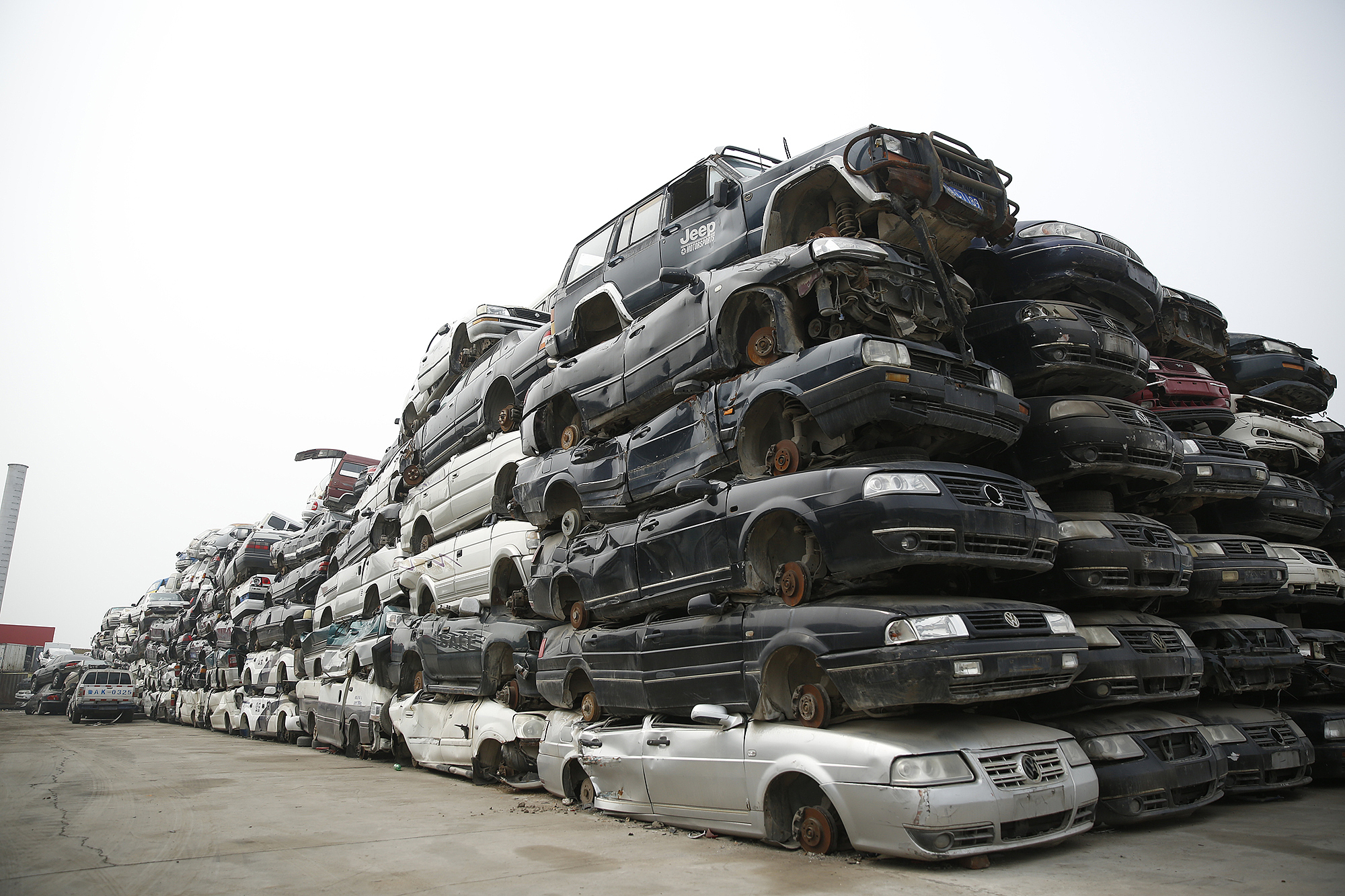 傲世皇朝平台工信部等四部门:支持汽车规范回收 可回收利用率要达到95%