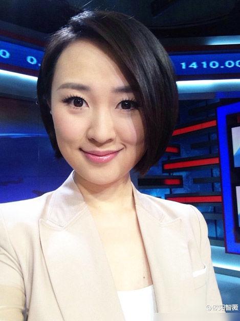 央视财经频道的年轻女主播们_央广网