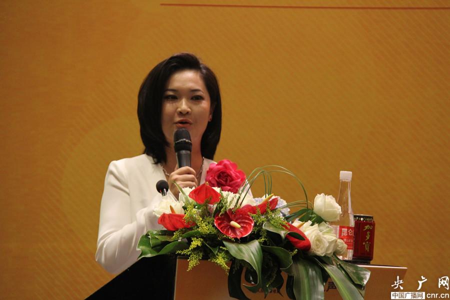 经济之声主持人杨晓菲图片